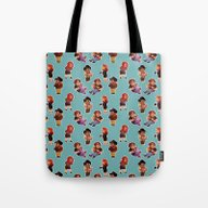 Tote Bag featuring IT Crowd by SIINS