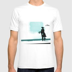 Shoo. Mens Fitted Tee White SMALL