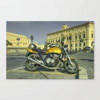 Honda CB400  Canvas Print