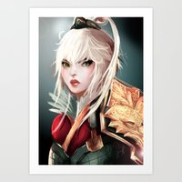 Dragonblade Riven Art Print