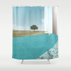 atmosphere 26 · Floodland Shower Curtain