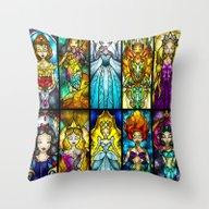 The Princesses Throw Pillow