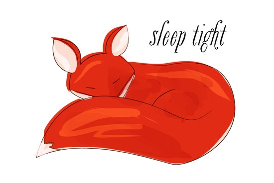 Sleep Tight Art Print