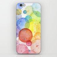 Watercolor Abstract Rain… iPhone & iPod Skin