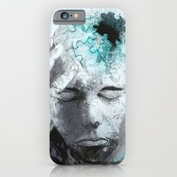 iPhone & iPod Case featuring Puzzled by Fresh Doodle - JP Valderrama