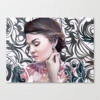 Conspicuous Design Canvas Print