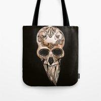 Skulll Tote Bag
