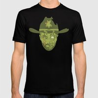 Grimes Mens Fitted Tee Black SMALL