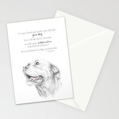Murphy :: Loyalty [with Quote] Stationery Cards