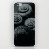 Little snails iPhone & iPod Skin