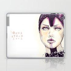 Fashion illustration  Laptop & iPad Skin
