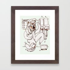 Sheep Obsession Framed Art Print