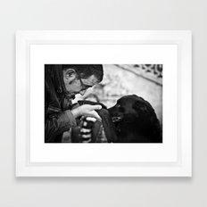 Do You Trust Me? Framed Art Print