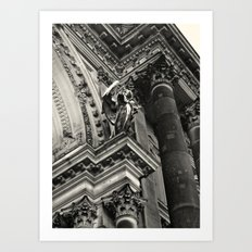 Berliner Dom Angel Art Print