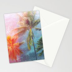 Tropical sun Stationery Cards