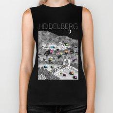 Locals Only - Heidelberg, Germany Biker Tank