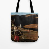 The gods must be crazy | Collage Tote Bag