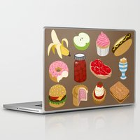 food Laptop & iPad Skins featuring Food by John Holcroft