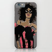 iPhone & iPod Case featuring Big Hair by Samantha J Creedon