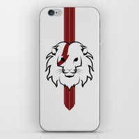 Monarch (Black & Red) iPhone & iPod Skin