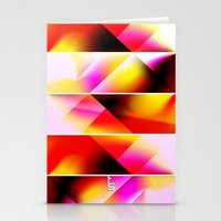 Psychedelic Stairway (Fi… Stationery Cards