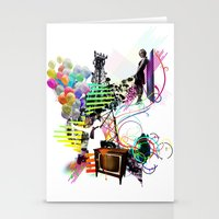 Communication Of Two Stationery Cards