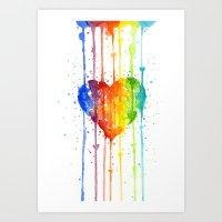 Love Wins Art Print