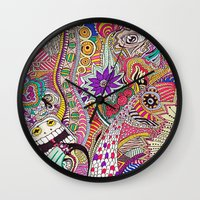 It's What's On The Inside That Counts. Wall Clock