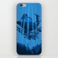 The Underwater Fantasy iPhone & iPod Skin