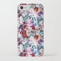 floral pattern iPhone & iPod Cases featuring Floral Pattern by Eduardo Doreni