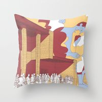 The Death Is Not The End Throw Pillow