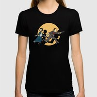 TinTinfinite Womens Fitted Tee Black SMALL