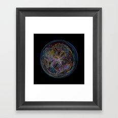 Fantasy Orb Framed Art Print