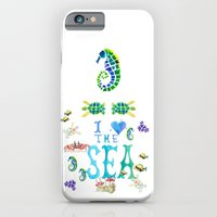 I Love the Sea iPhone 6 Slim Case