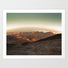Life on Mars ? Art Print