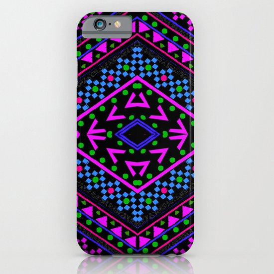 NEON PATTERN iPhone & iPod Case