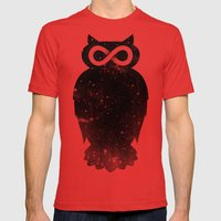 Owlfinity  Mens Fitted Tee Red SMALL