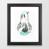 Heartless Woman Framed Art Print