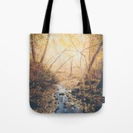 Blue Cola Mountain Tote Bag