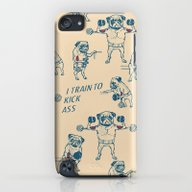 Pug Workout iPod touch Slim Case