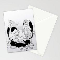 birdmaker print Stationery Cards