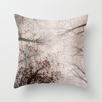 SILENT FOREST 2 Throw Pillow