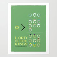 Lord Of The Rings Movie … Art Print