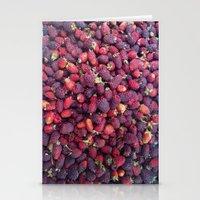 Berries in Paloquemao - Bayas en Paloquemao Stationery Cards