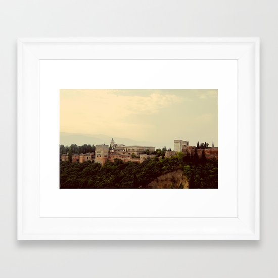 Granada Framed Art Print