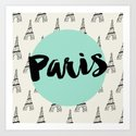 Paris Print Art Print