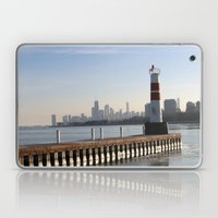 Montrose Harbor in the Winter Laptop & iPad Skin