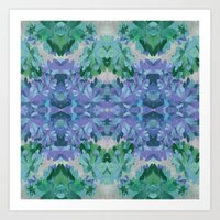 painter's kaleidoscope Art Print
