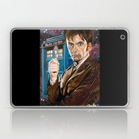 The Tenth Doctor And His… Laptop & iPad Skin