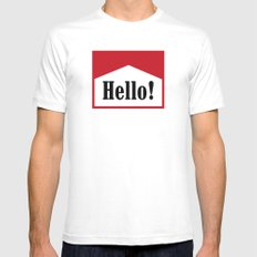 hi Mens Fitted Tee White SMALL